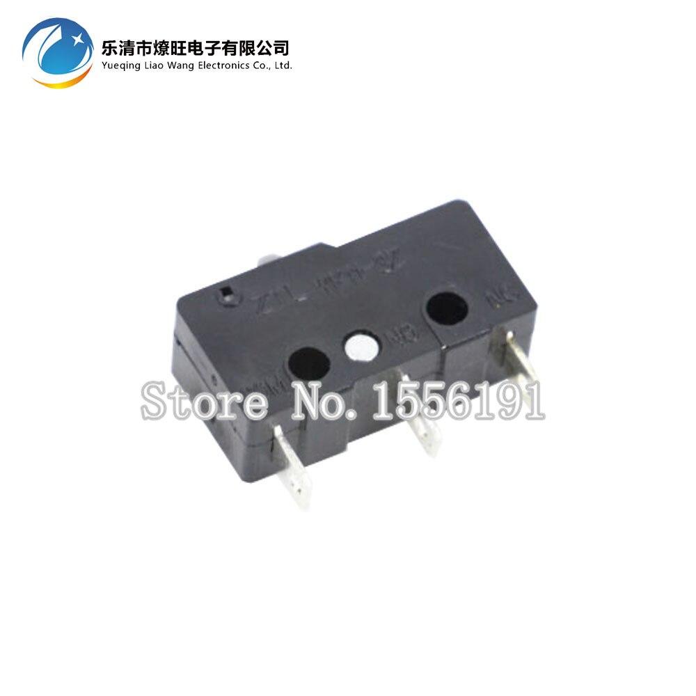100 шт./лот 3pin все новые концевой выключатель n/o n/c 5A250VAC KW11-3Z мини-микро-переключатель сидячие