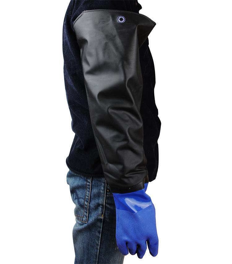 70cm Long PVC Sand Blasting Glove, High Quality Sandblasting Gloves, Industrial Gloves