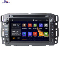 WANUSUAL 7'' Octa Core 32G 4G RAM Android 6.0 Car Video Player GPS for Chevrolet Tahoe 2007 2012 for Chevy Tahoe 2007 2012 Maps