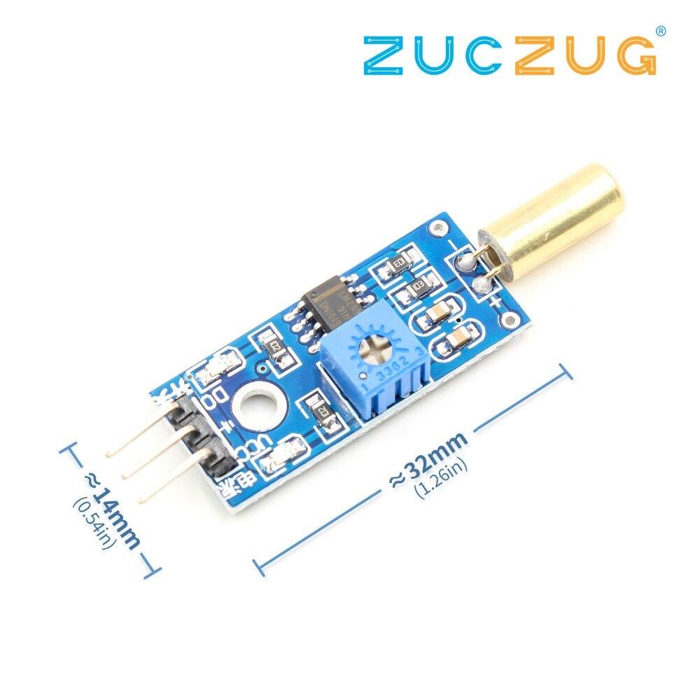Tilt Sensor Modul Schalter Mikrocontroller Elektronische Bausteine Smart Roboter für arduino Diy Kit