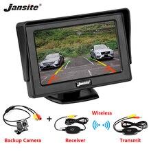 "Car Monitor 4.3"" Screen For Rear View Reverse Camera TFT LCD Display HD Digital Color PAL/NTSC Reverse Camera Parking System"