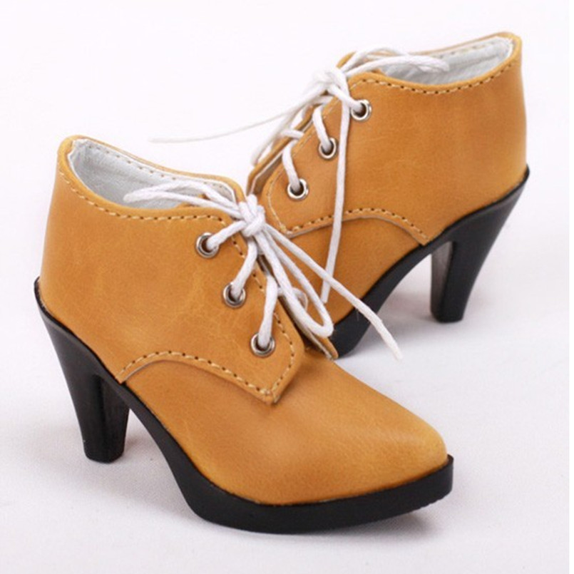 1/3 1/4 MSD BJD Shoes Dollfie Lolita Shoes for Dolls Accessories,Fashion High Heel Doll Boots Good Quality