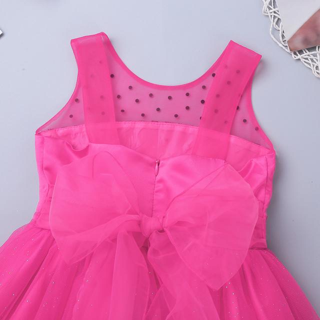 Mesh Sparkly Flower Girl Dresses
