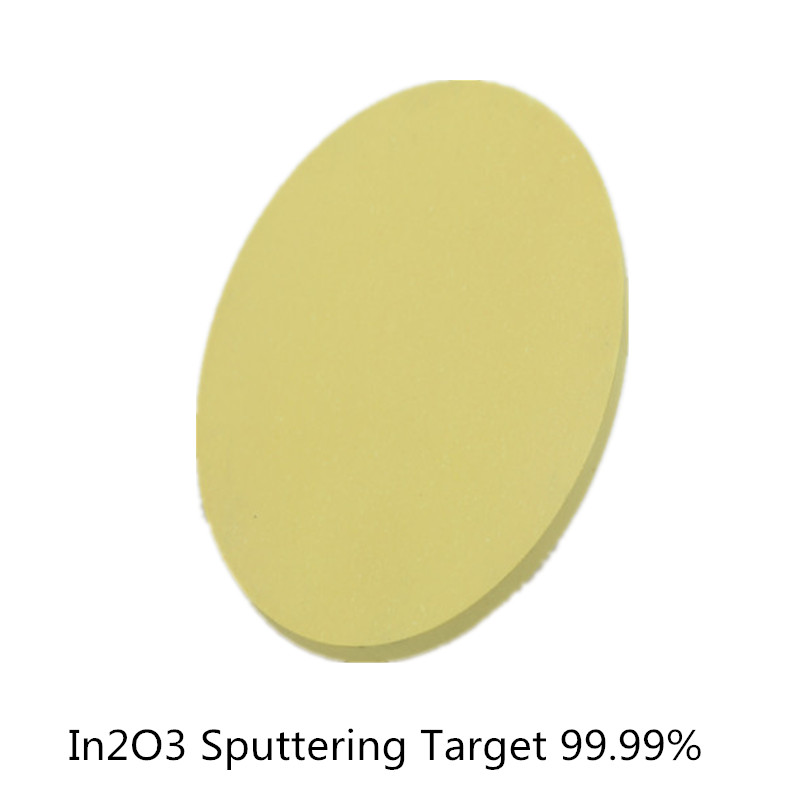 High Purity Indium In2O3 Sputtering Target In 99.99% 4 Collections Research And Development Magnetron Compound Target