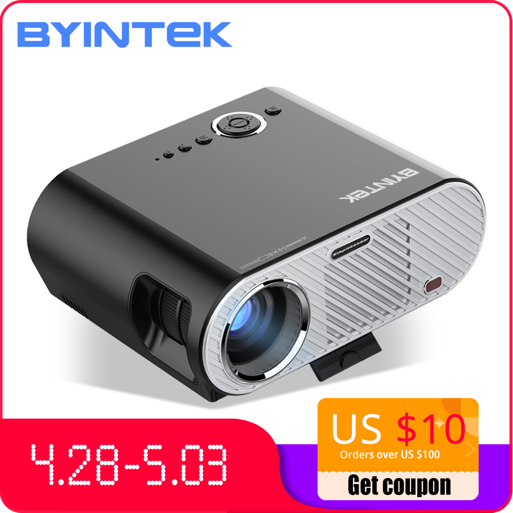 Smart Byintek Moon Gp90 Cinema Full Hd Video Led Hdmi 1080p Home Theater Projector Good For Energy And The Spleen Lcd Projectors Home Audio & Video