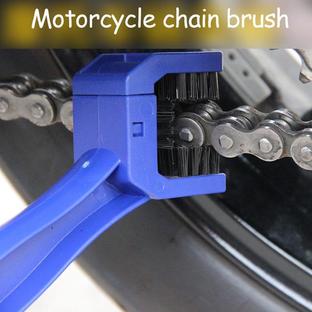 Universal Motorcycle Bike Chain Maintenance Cleaning Brush For Suzuki GSXR GSX-R 600 750 1000 K1 K2 K3 K4 K5 K6 K7 K8 K9