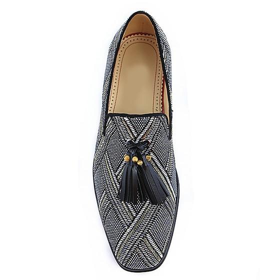 Mocassins Glands Conduite Mélangées on As Chaussures Hommes Mode Pic Slip Chaussure Rayé Printemps Toe Appartements Masculine Homme Casual Ronde Couleurs wZqqfBan