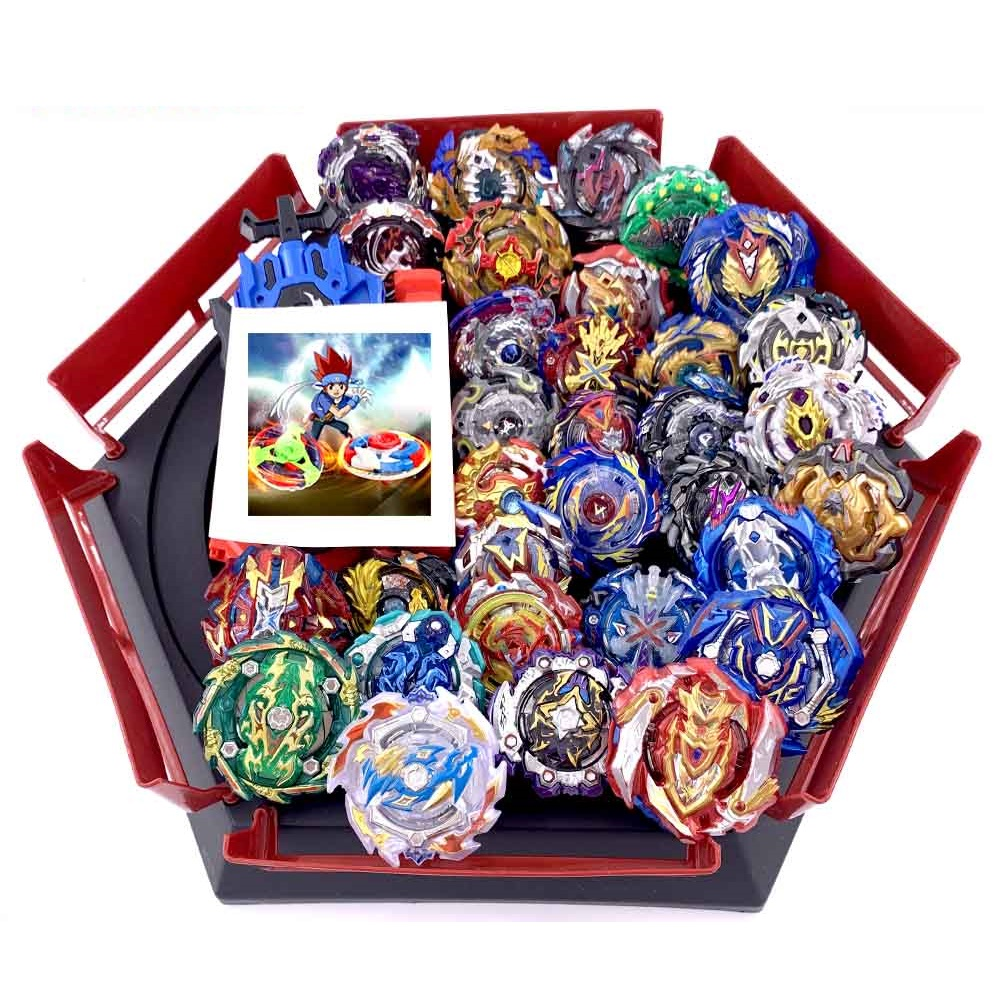 41 Style Tops Beyblades Metal Set Box Top Burst Bey Blade Launcher Beyblade Toys for Children Boy