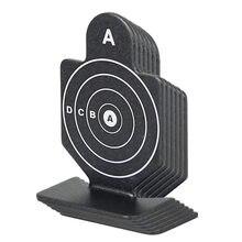 6 pçs/lote tiro tático alvo conjunto útil caça airsoft alvo gz330180