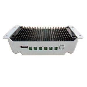 Image 5 - Mando de cargador Solar de 12V, 24V, 30A, 5V, pantalla LCD con amplio rango de temperatura, regulador de Panel Solar, PWM, novedad de 2019