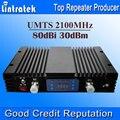 80db Ganho 3G 2100 Telefone Celular Repetidor de Sinal De Reforço Amplificador WCDMA AGC MGC UMTS 2100 MHZ 3G Signal Booster Com Display LCD S20