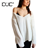 Kuk 10 Color Sweater Women Pullover Feminino Pull Femme 2017 Casual Ladies Jumpers Pink Knitwear Sueter