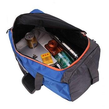Large Capacity Training Gym Bag Outdoor Waterproof Nylon Sports Luggage Duffels Bag Multifunction Shoulder Handbag for Men Women 5