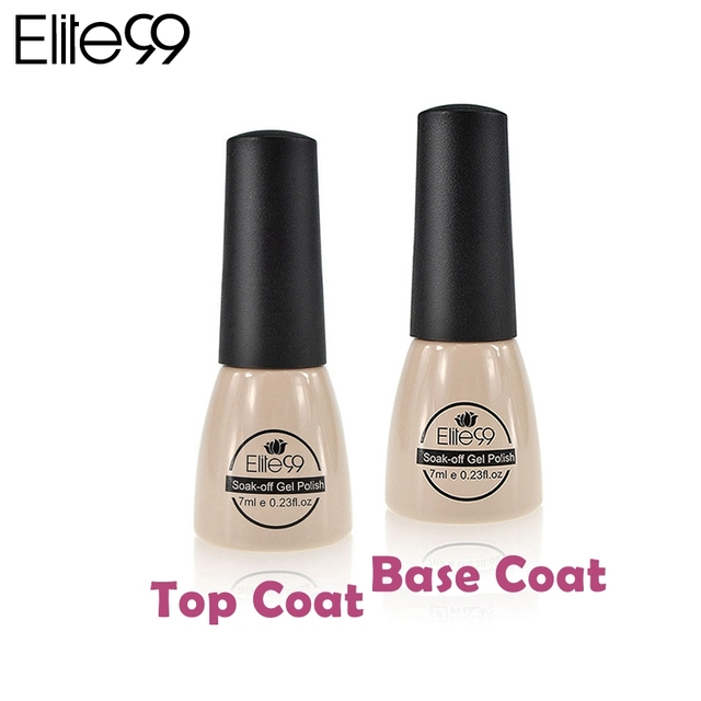 Elite99 Gel Fundación Capa Base de Imprimación para el Gel ULTRAVIOLETA Del Polaco De Clavo escudo Top it off Esmalte de Curado UV Laca de Uñas de Gel UV