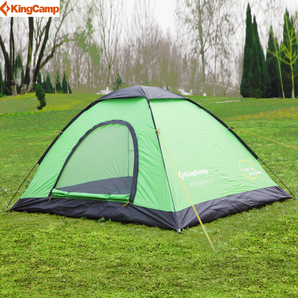 kingcamp pop up dome tent outdoor camping tent family lightweight quick automatic openning tent. Black Bedroom Furniture Sets. Home Design Ideas
