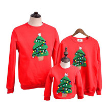 Family Matching Outfits 2017 Winter Christmas Sweater Christmas tree Children Clothing font b Kid b font