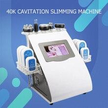 Portable 40k Ultrasonic liposuction Cavitation 8 Pads LLLT l