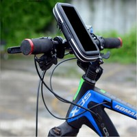 Bike Bicycle Phone Bag Rainproof Touch Screen Cell Phone Holder Bicycle Waterproof Jacket Phone Case For
