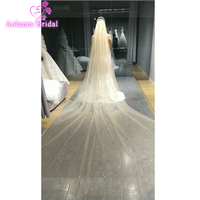 Gold Silver Blings Glitter Wedding Veils 3 Colors Nature White Light And Darker Champagne Long Bridal Veil Wedding Accessories