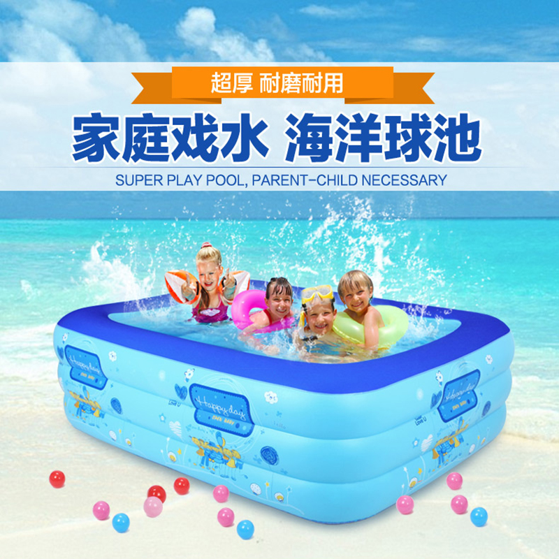 Ultralarge mount adult swimming pool 5 sizes child for Large size inflatable swimming pool