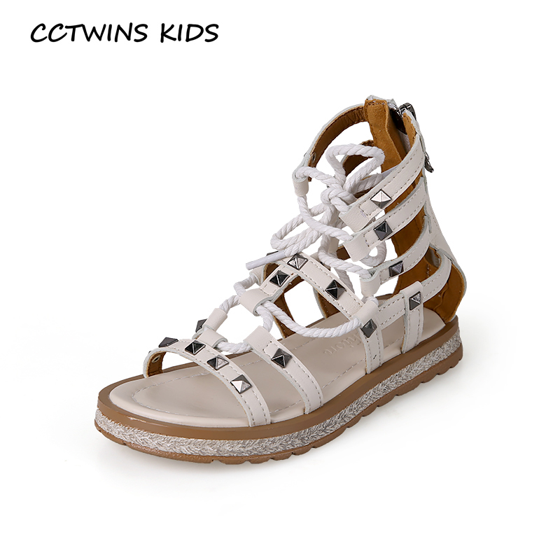 CCTWINS Kids Shoes 2019 Summer Girls Rivets Party Shoe Children Fashion Gladiator Princess Dress Beach Sandals Baby Flat BG134CCTWINS Kids Shoes 2019 Summer Girls Rivets Party Shoe Children Fashion Gladiator Princess Dress Beach Sandals Baby Flat BG134