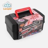 Lensple Boîte De Jeu Pour Beyblade Burst Metal Fusion 4D Lanceur Beyblade Spinning Top Toy Set Meilleurs Cadeaux D'anniversaire Pour Les Enfants