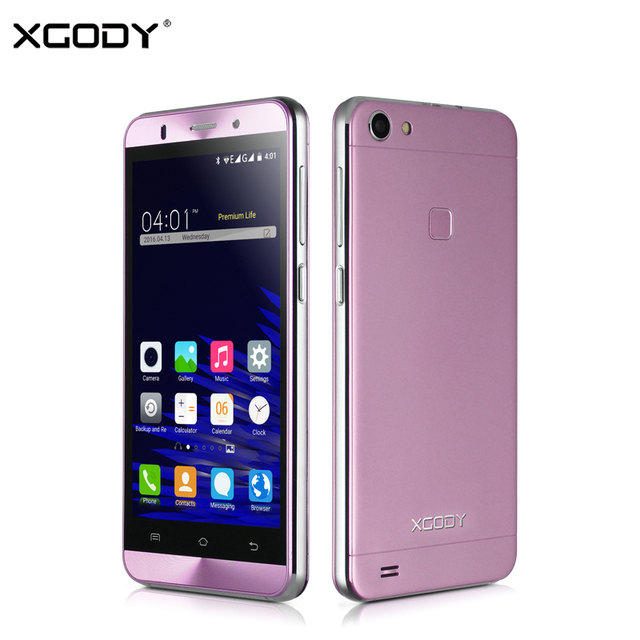 9c249e46bb8 XGODY X15S 5.0 Polegada Smartphone Android 5.1 GB + 8 MTK6580 Quad Core 1  GB 5MP