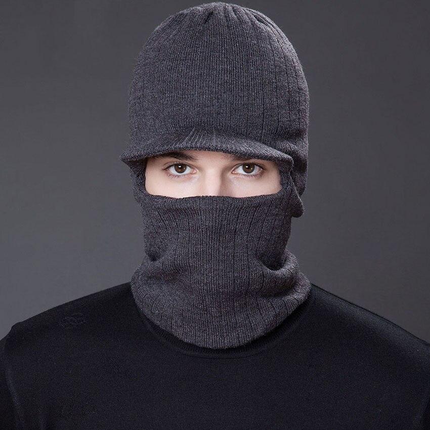 Fashion Men Ninja Hat Skullies s