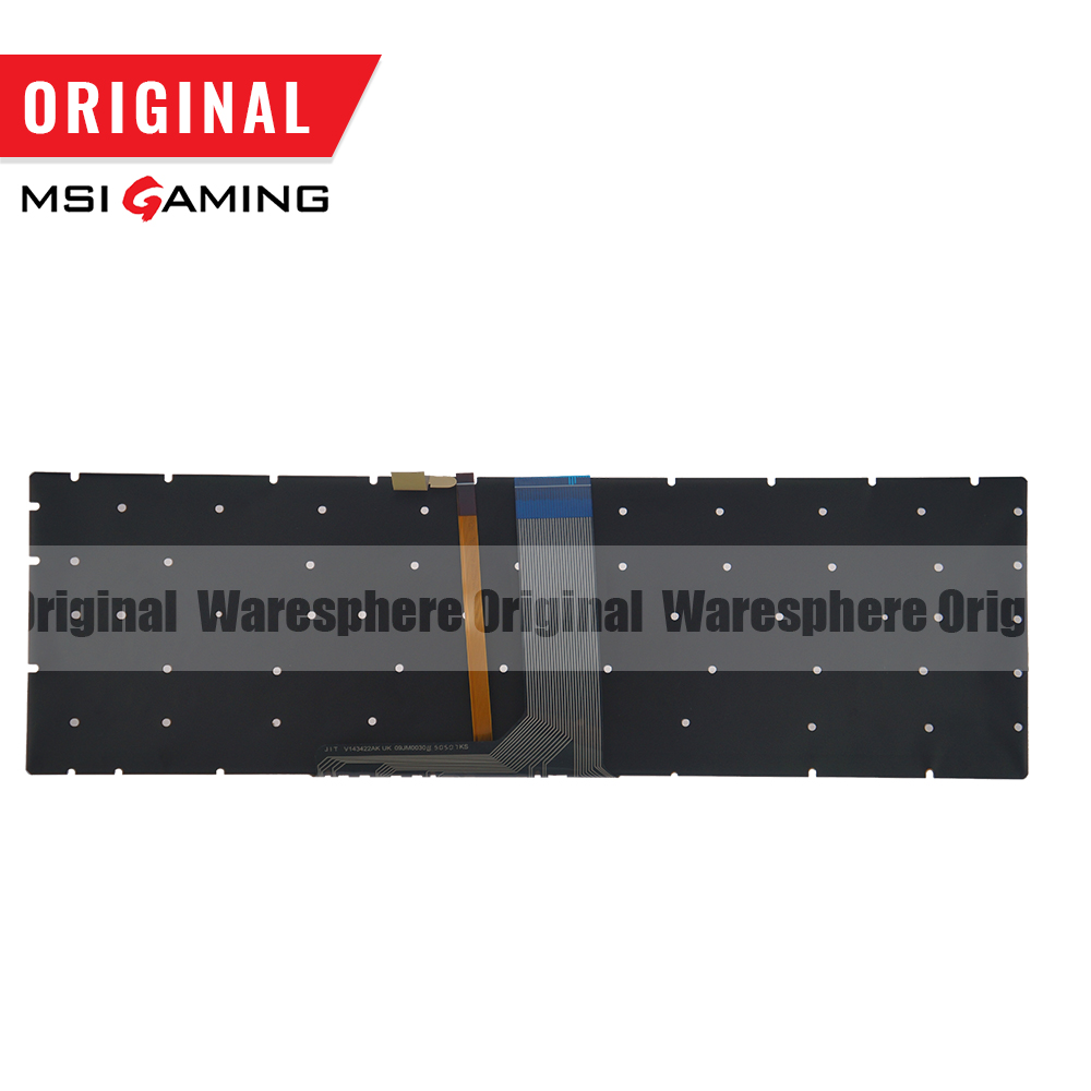 Image 2 - Original Latin Colorful Backlit Keyboard For MSI GE72 GE62 WS60 GS60 GS70 GT72 GP62 GP72 GT73VR V143422FK1 S1N 3E00211 SA0 LA-in Replacement Keyboards from Computer & Office on