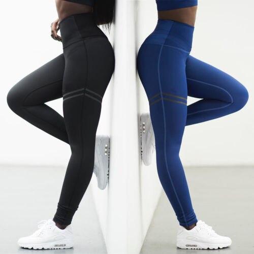 Hirigin Frauen Bleistift Keucht Hohe Taille Ganzkörperansicht Leggings Dünne Weiche Stretch Hose