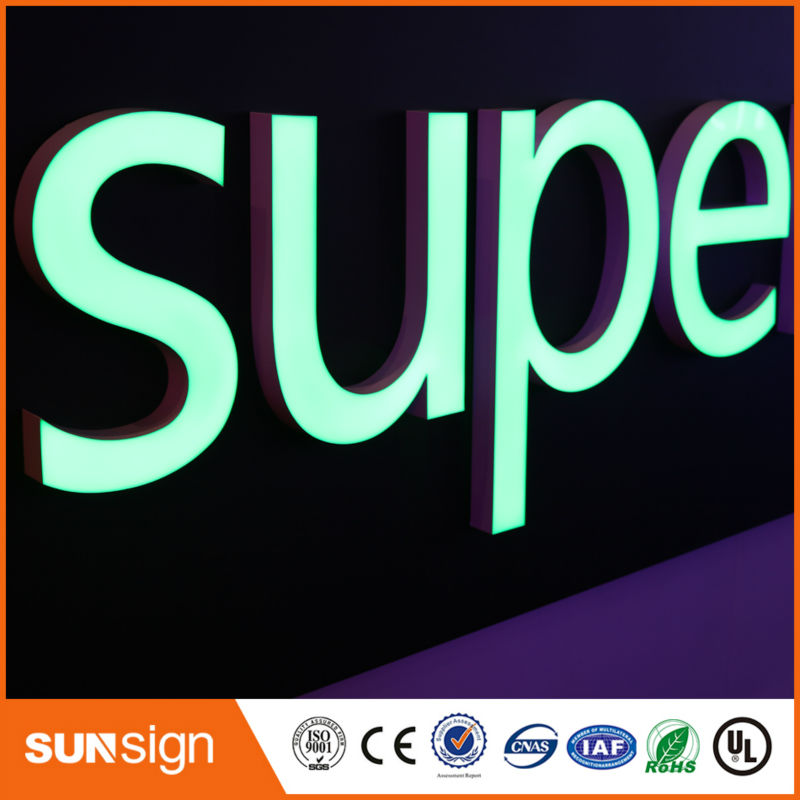 Custom Sign 2016 New Product Led Sign Letters For Shop