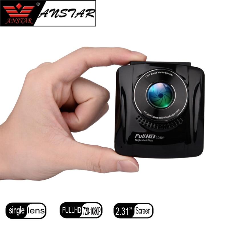 Anstar hidden Car DVR Camera Novatek 96220 Dash cam FHD 1080P Video Recorder G-sensor Registrator K3 Car DVRs 2 inch car camera