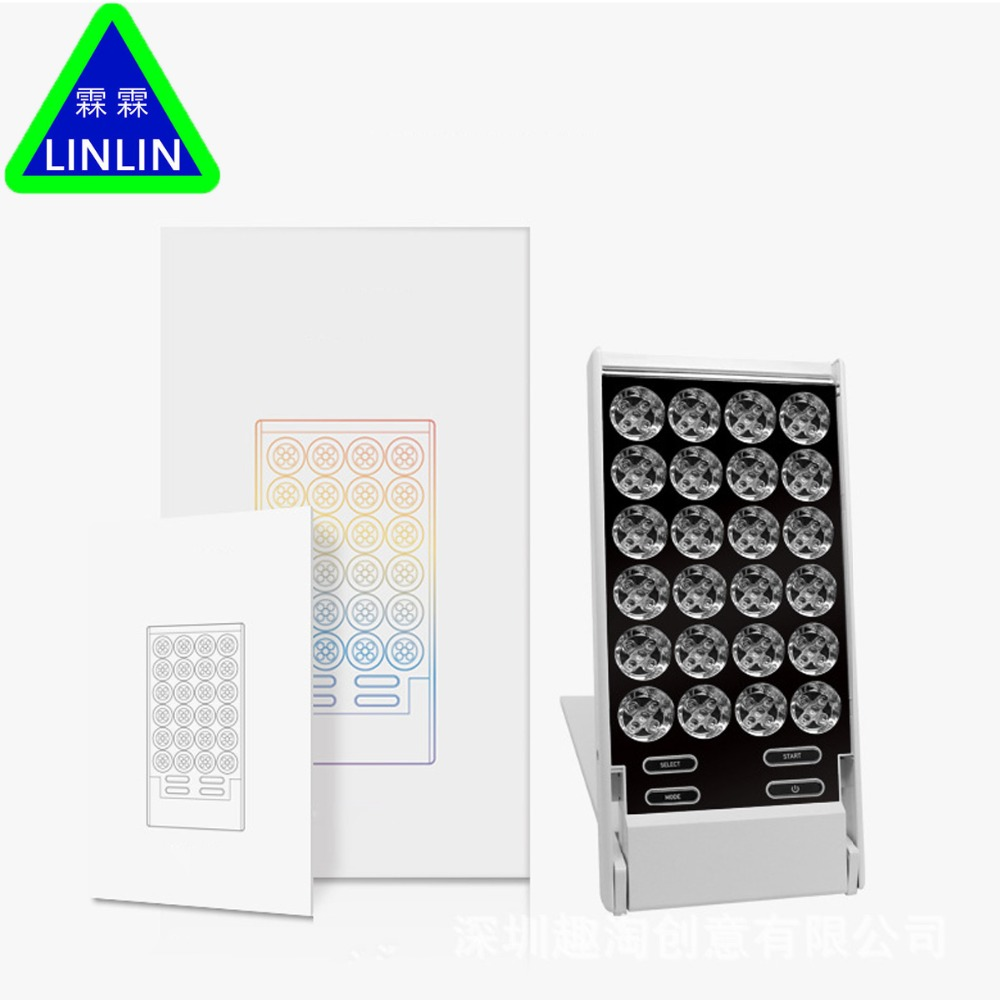 LINLINLED small row lamp Mini illuminating beauty apparatus face illuminator whitening and rejuvenation household whitening lamp-in Massage & Relaxation from Beauty & Health    2