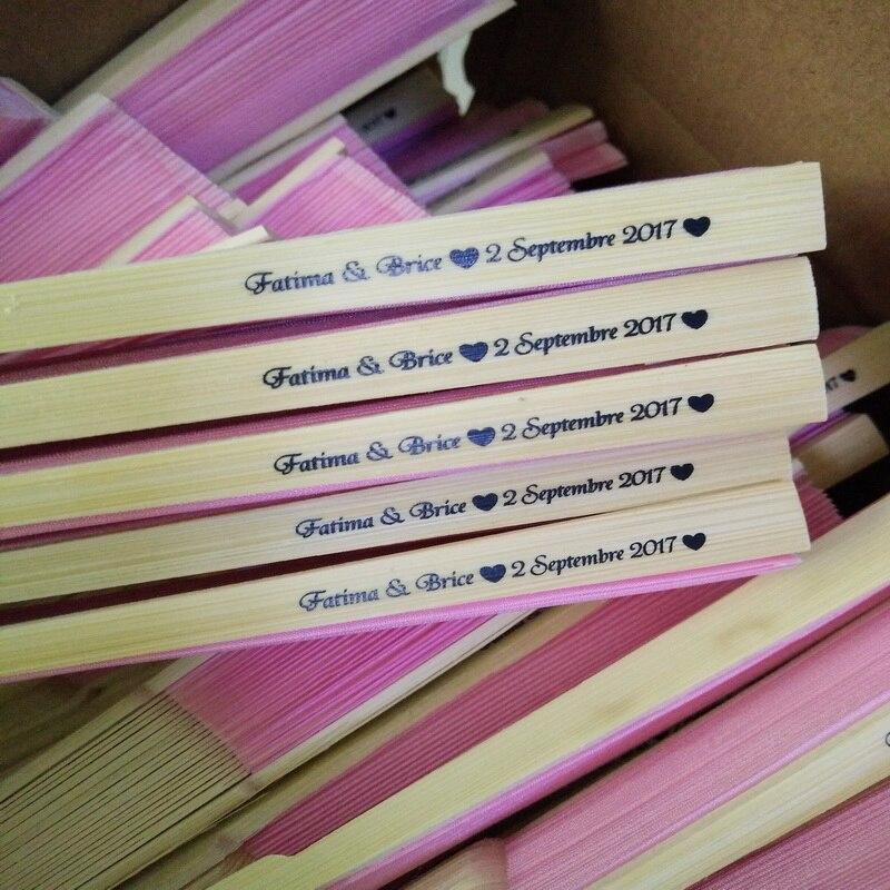 60pcs lot FREE SHIPPING Personalized Chinese Folding Hand Fan Hand Folding Fans Wedding Souvenirs Customized