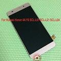 Probado de trabajo negro/blanco/oro pantalla lcd táctil digitalizador asamblea para huawei honor 4a y6 scl-l01 scl-l21 scl-l04