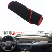 For Audi A7 S7 Car Dashboard Avoid Light Pad Instrument Platform Desk Cover Mat Silicone Non
