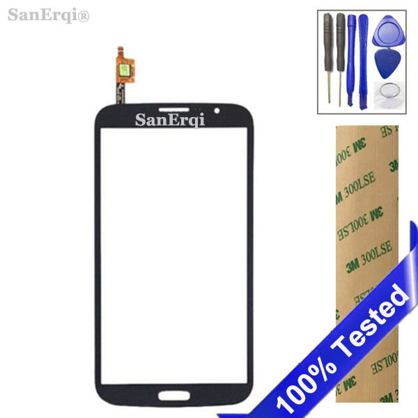 SanErqi New Tested Touch Screen For Samsung Galaxy Mega 5.8 i9150 i9152 GT-i9150 GT-i9152 digitizer lcd glass
