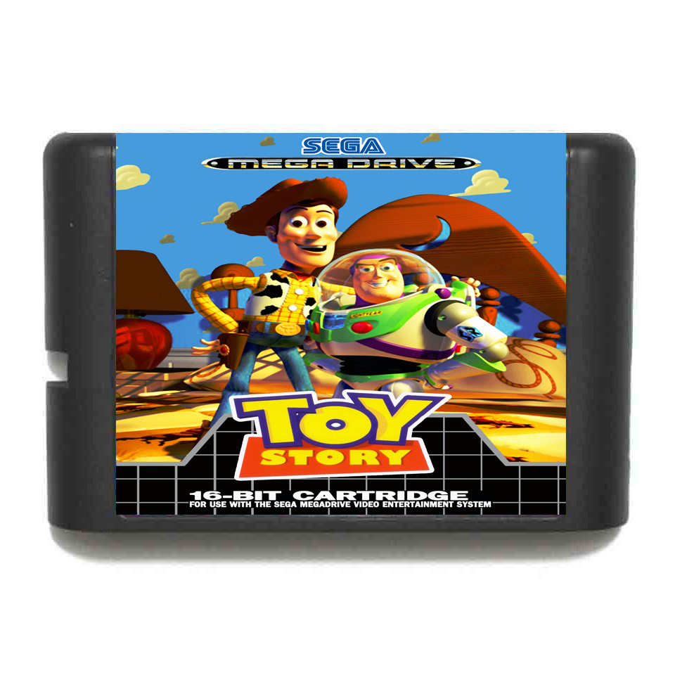 Toy Story NTSC-USA 16 bit MD Game Card For Sega Mega Drive For Genesis image