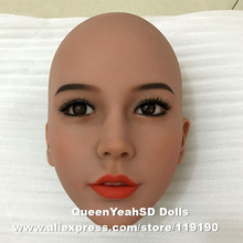 #56 Top quality oral head for real doll sex doll, love doll, sexy toy for men, can fit for 140cm to 168cm height body