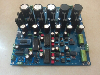 PCM58x2,PCM1702x2,PCM1704x2  Finished Decoder Board  Decoder DAC Eighth Edition