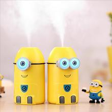 2016 New USB Cartoon Air USB Ultrasonic Humidifier Car Air Fresher Essential Oil Diffuser Aromatherapy and Air Mist Maker Fogger