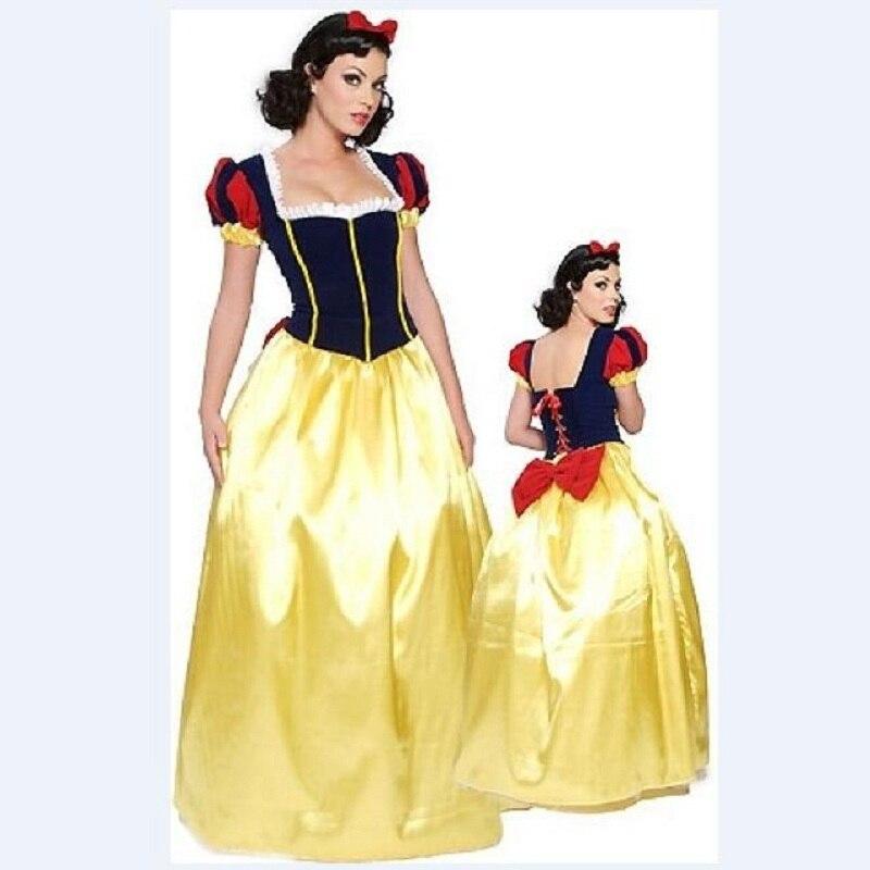 2017 Ladies Princess Snow White Outfit Fancy Dress Sexy Snow White Costume