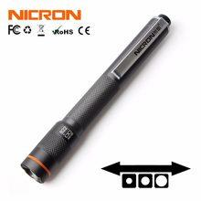 NICRON B22 ручка фонарик высокий CRI цвет матч Масштабируемые 120LM водонепроницаемый IP65 2xaaa мини домашний Фонарь Лампа для обслуживания и т. Д.