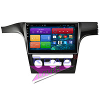 TOOPNAVI Android 6 0 1G 16GB 10 2 1024 600 Car PC Head Unit Auto Audio
