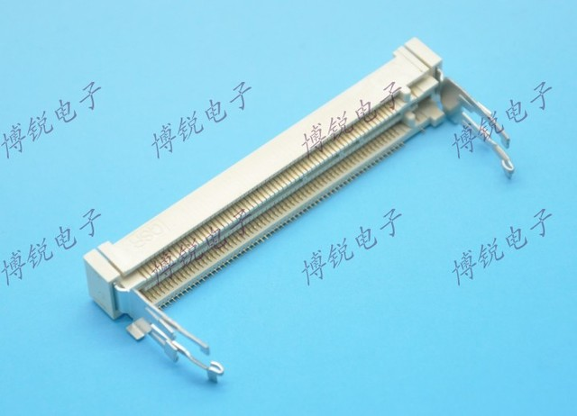 QSR MINIPCI connector MINIPCI double deck 124PIN core pin placement +8