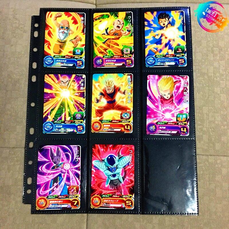 Japan Original Dragon Ball Hero Card PCS4 Goku Toys Hobbies Collectibles Game Collection Anime Cards