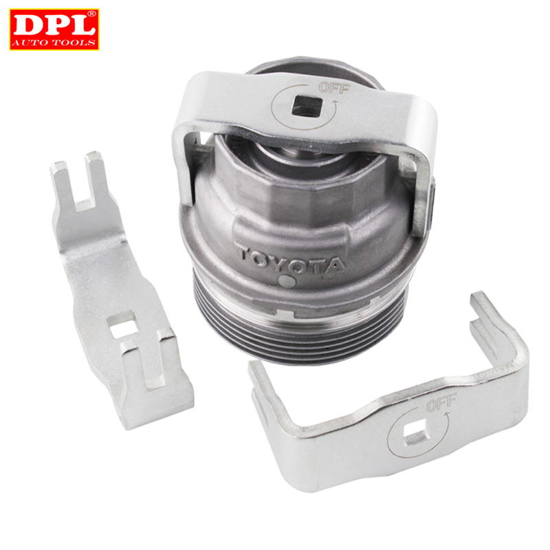 CTA Tools 1726M Oil Filter Wrench /& Drain Kit Compatible with Toyota