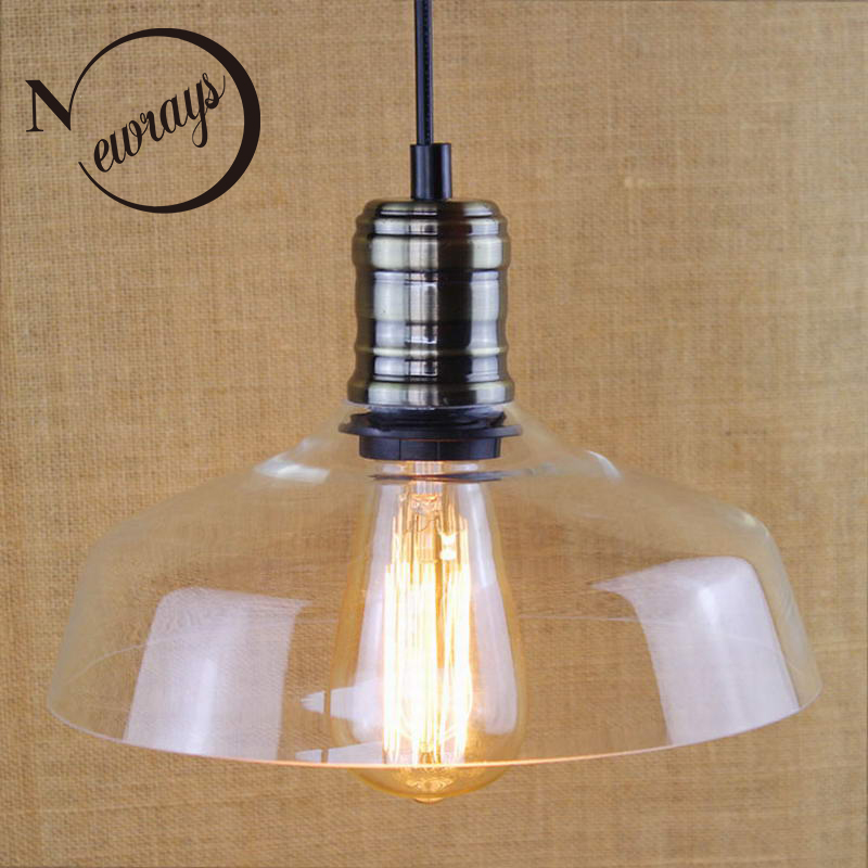 Modern creative iron glass shade pendant lamp E27 220V LED 2 colors suspension Lighting for bedroom restaurant parlor study cafeModern creative iron glass shade pendant lamp E27 220V LED 2 colors suspension Lighting for bedroom restaurant parlor study cafe