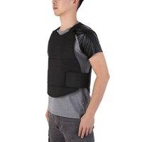 Kamizelka taktyczna kamizelka myśliwska mężczyźni kobiety ochrona Anti Cut wokół szyi miękka odzież Anti Riot Cut Stab Vest w Kamizelki myśliwskie od Sport i rozrywka na