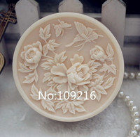 Commercio all'ingrosso!!! 1 pz Fiori Foglie con Farfalla (ZX110) Muffa Del Silicone Handmade Sapone Mestieri Mold FAI DA TE